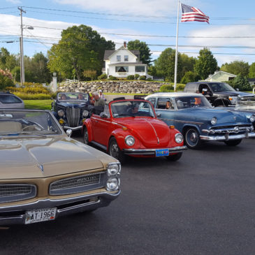 Classic cars at Colonial Gables